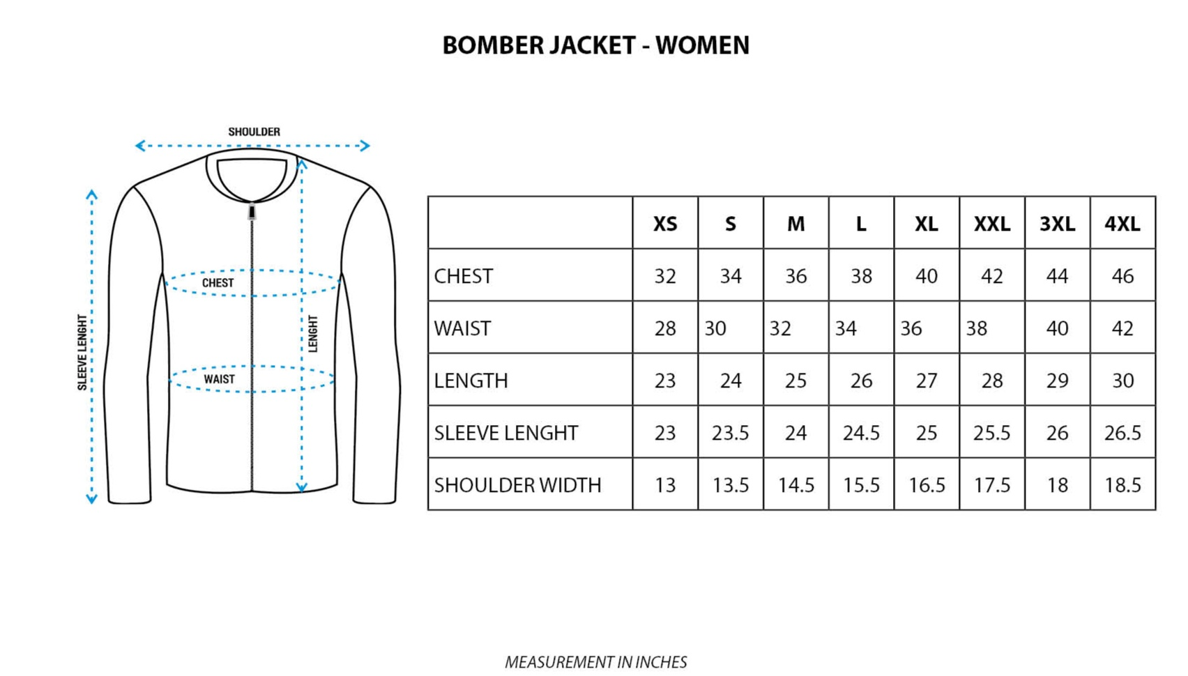 AOP Bomber Jacket Women