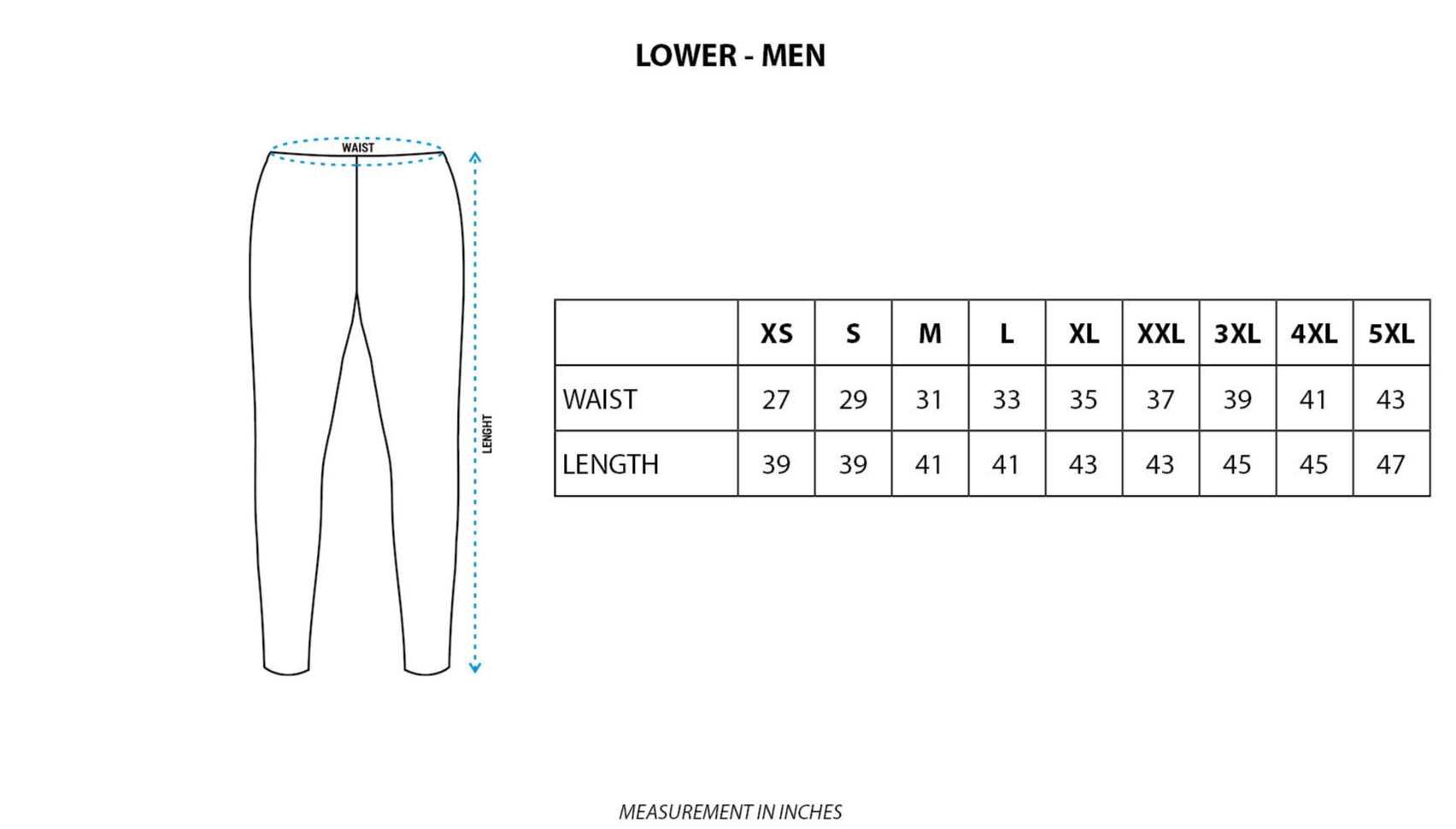 AOP Joggers without Rib